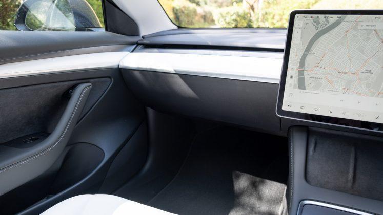 Tesla Model 3 dashboard