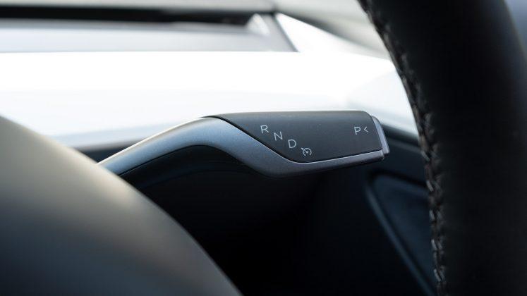 Tesla Model 3 drive control
