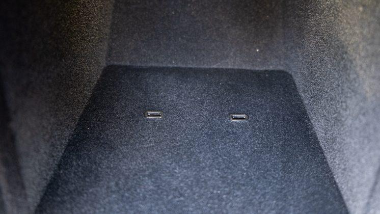 Tesla Model 3 front USB