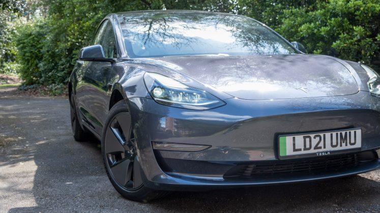 Tesla Model 3 front design