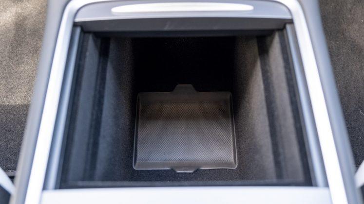 Tesla Model 3 front storage