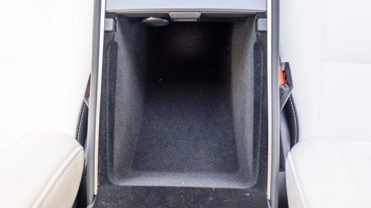 Tesla Model 3 front storage compartment