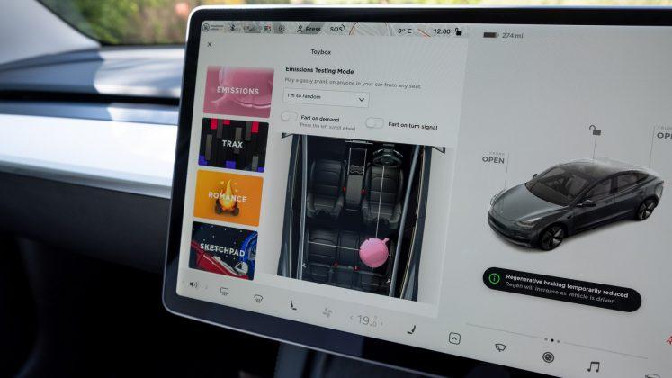 Tesla Model 3 fun stuff