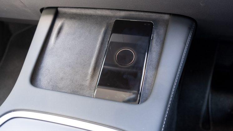 Tesla Model 3 phone charger