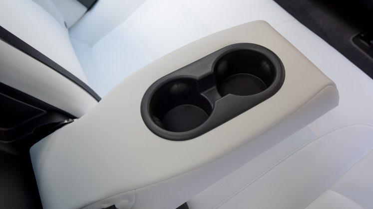 Tesla Model 3 rear cupholder