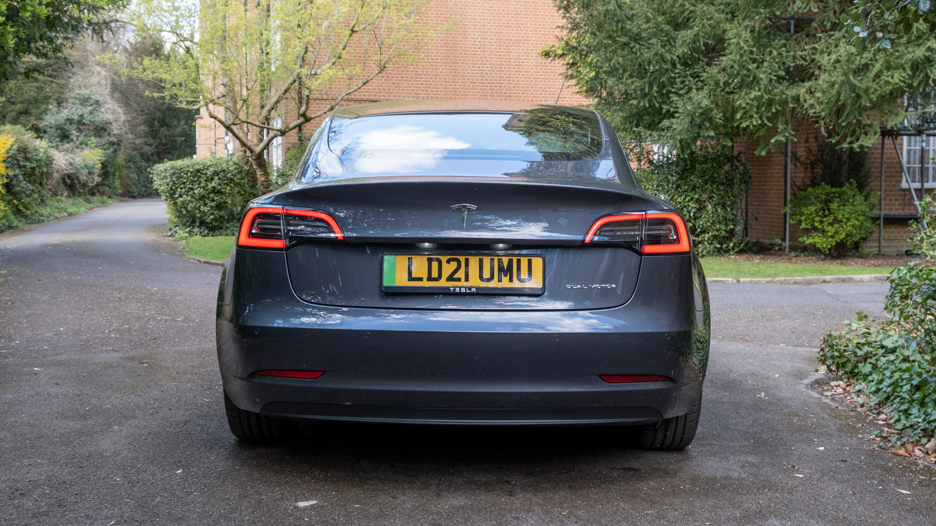 Tesla Model 3 rear design