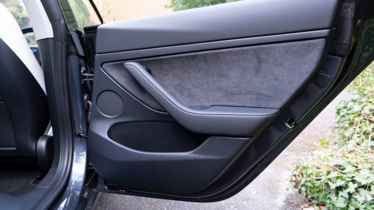 Tesla Model 3 rear door