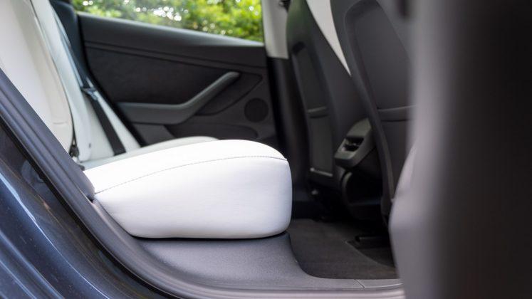 Tesla Model 3 rear seat space