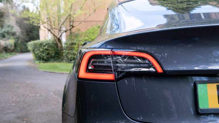 Tesla Model 3 taillights