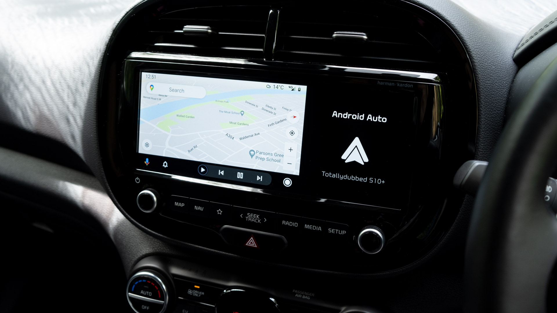 Kia Soul EV Android Auto