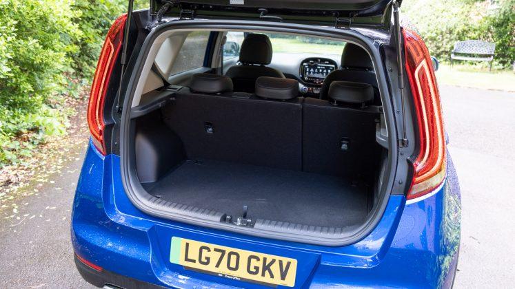 Kia Soul EV boot capacity