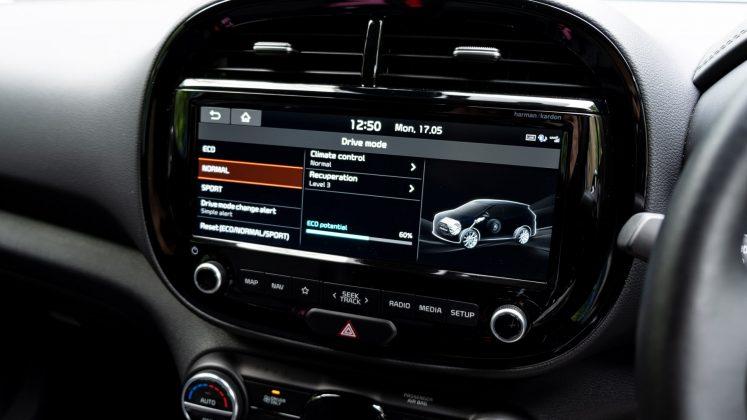 Kia Soul EV drive modes