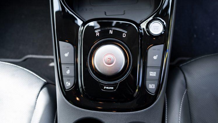 Kia Soul EV gear selector
