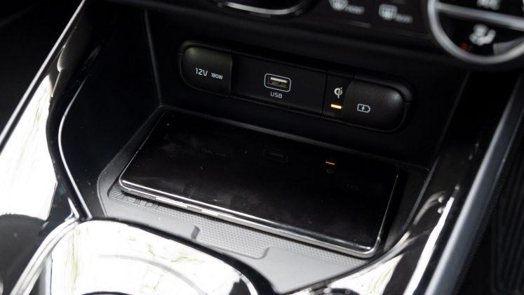 Kia Soul EV phone charger
