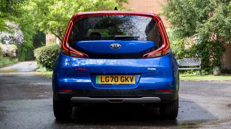 Kia Soul EV rear design