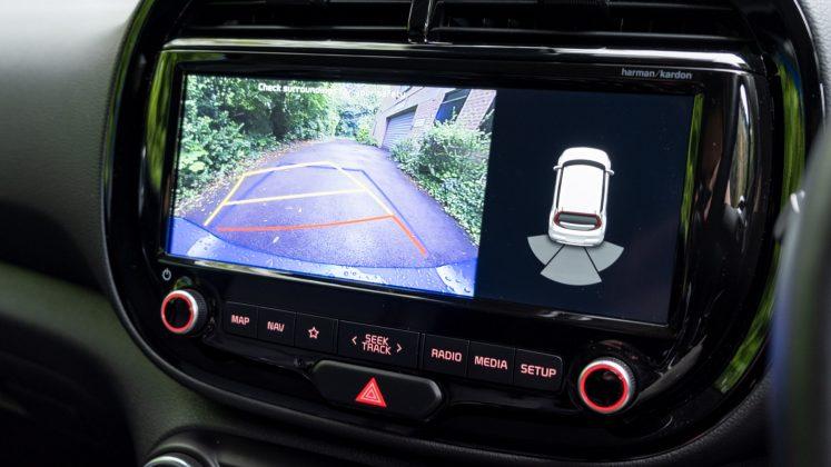 Kia Soul EV rearview camera