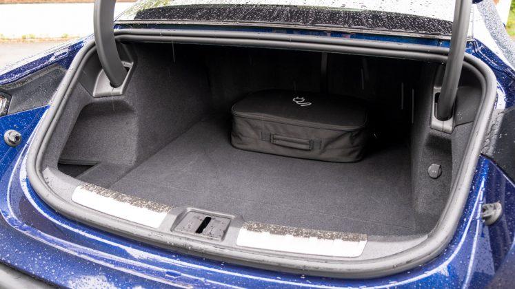 Porsche Taycan Turbo boot capacity