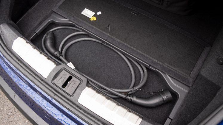 Porsche Taycan Turbo boot storage
