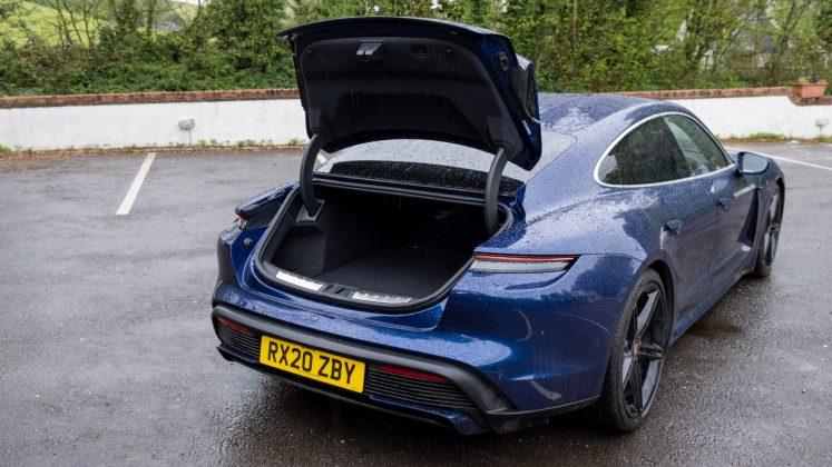 Porsche Taycan Turbo hatchback