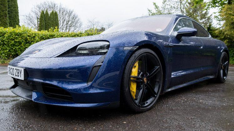 Porsche Taycan Turbo height