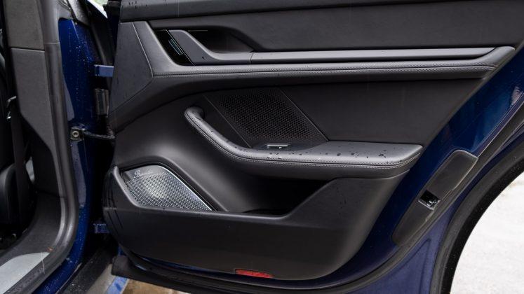 Porsche Taycan Turbo rear door