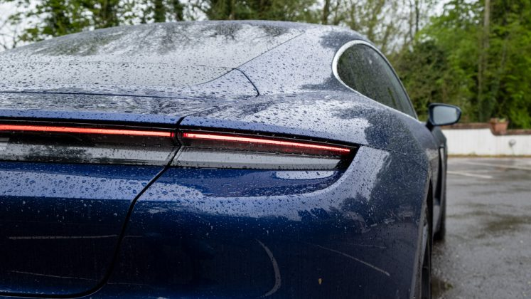 Porsche Taycan Turbo rear lights