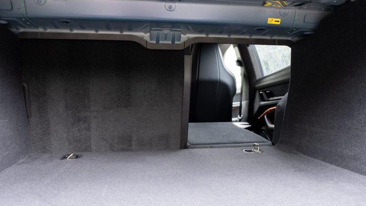 Porsche Taycan Turbo seat down