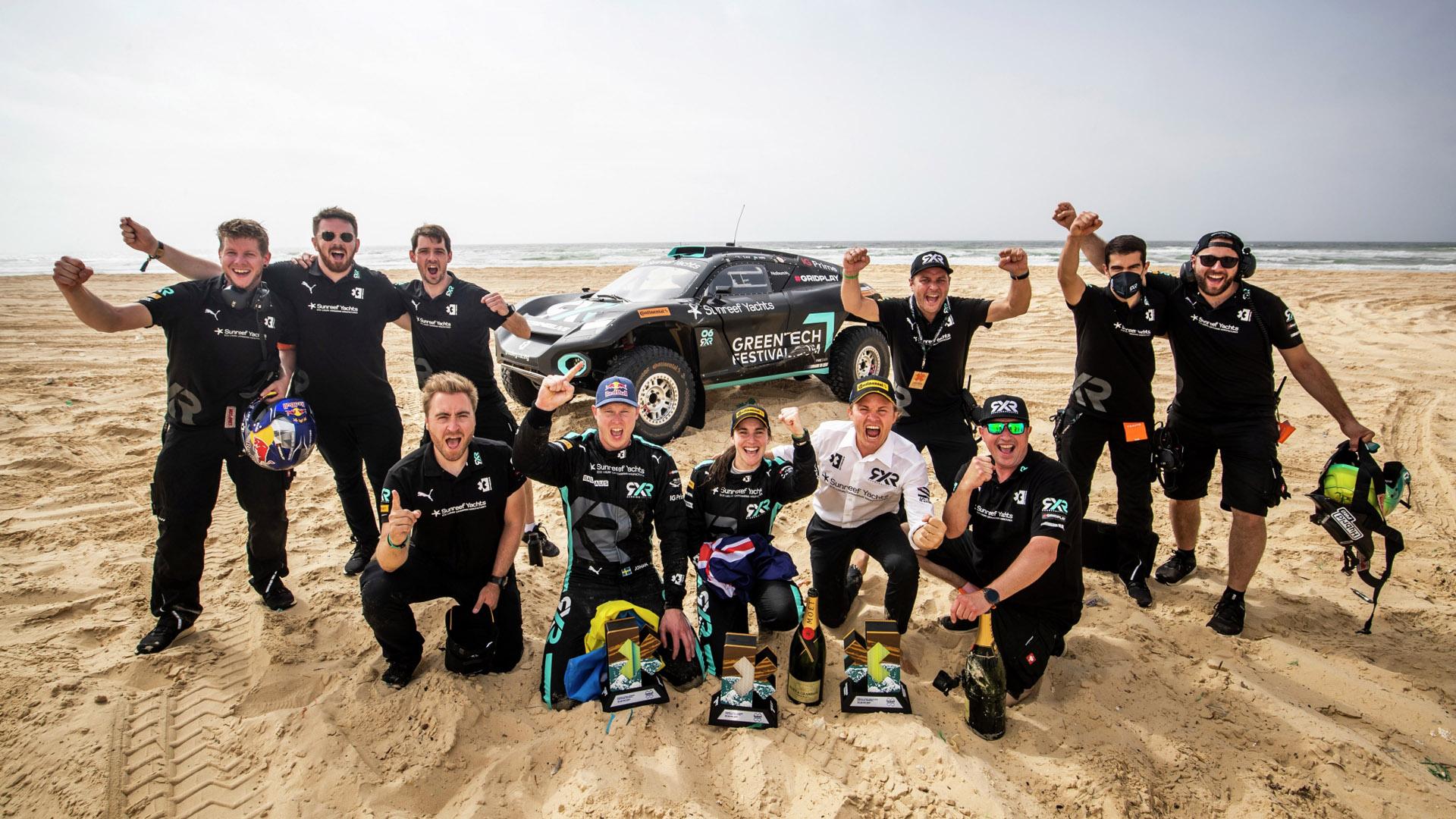 Rosberg X Racing win