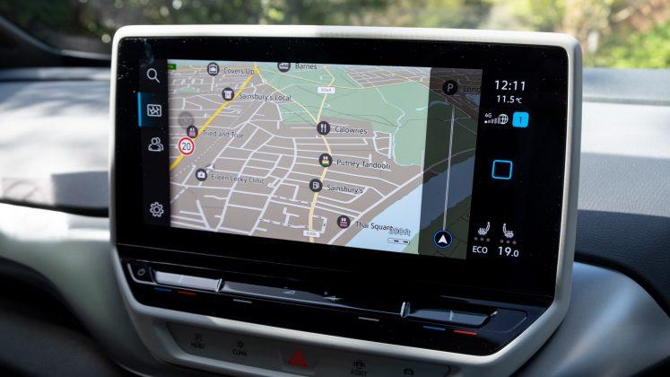 Volkswagen ID.4 Maps