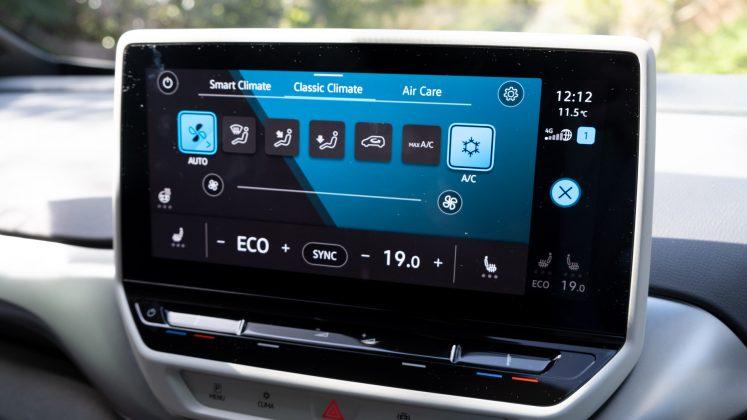 Volkswagen ID.4 climate
