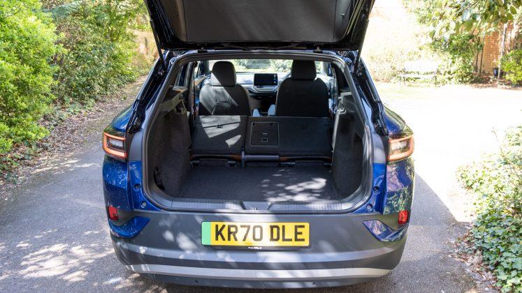 Volkswagen ID.4 folded seats