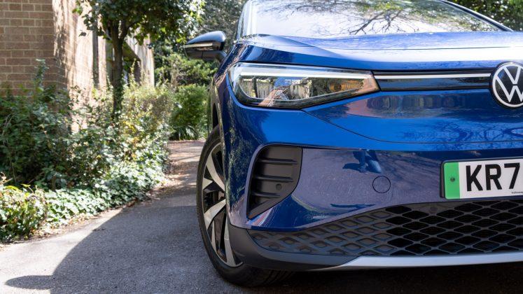 Volkswagen ID.4 front bumper