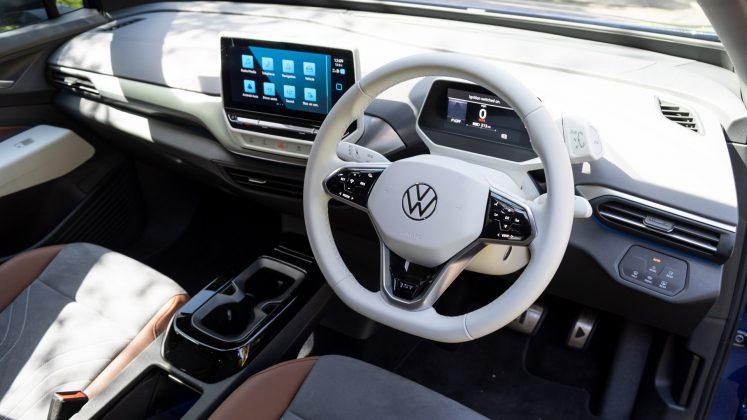 Volkswagen ID.4 front cabin