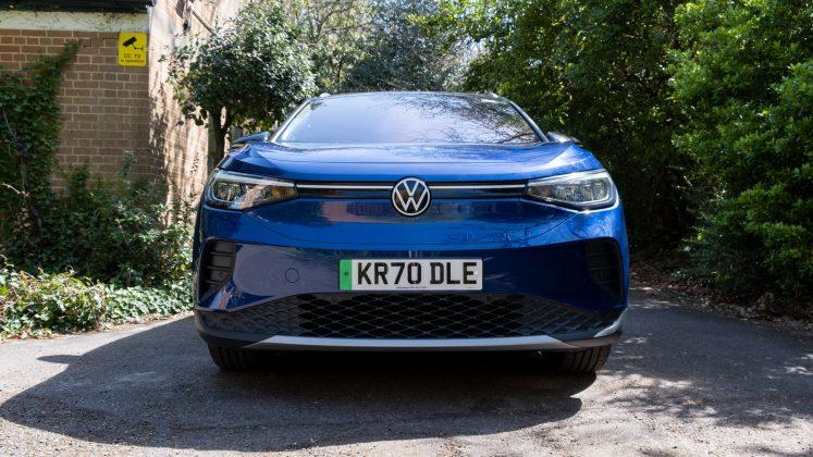 Volkswagen ID.4 front look