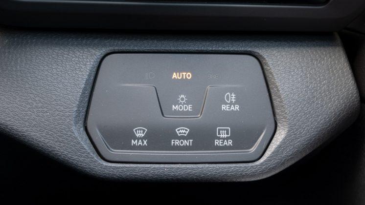 Volkswagen ID.4 light controls