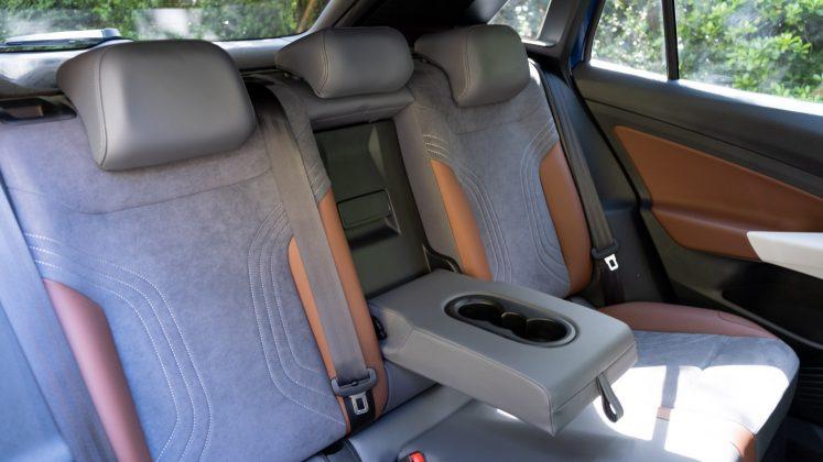 Volkswagen ID.4 rear armrest
