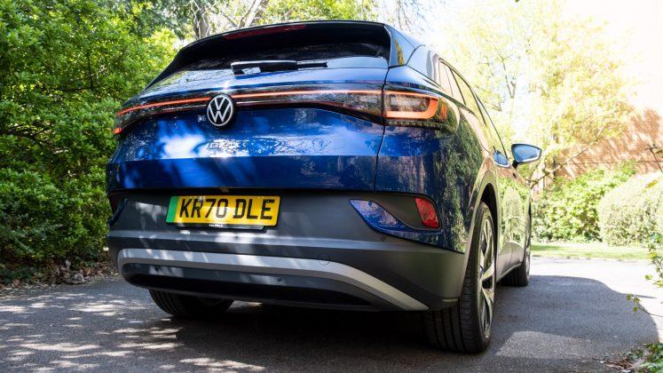 Volkswagen ID.4 rear bumper