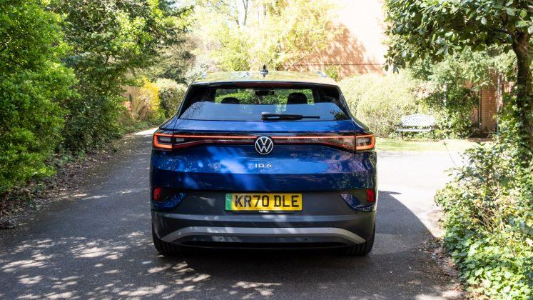 Volkswagen ID.4 rear look