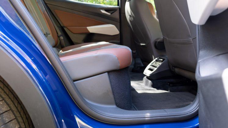 Volkswagen ID.4 rear seats design