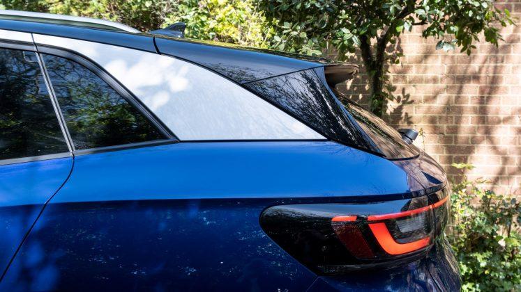 Volkswagen ID.4 spoiler design