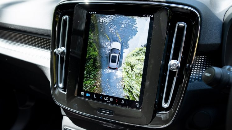 Volvo XC40 Recharge Twin 360 cameras