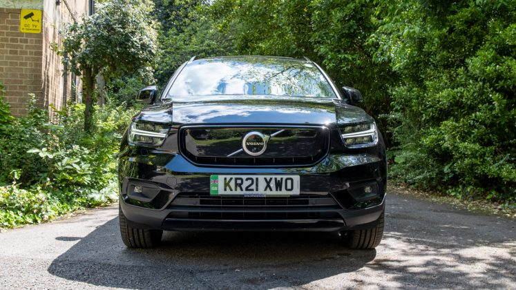 Volvo XC40 Recharge Twin front