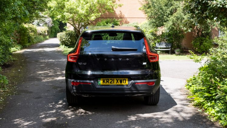 Volvo XC40 Recharge Twin rear