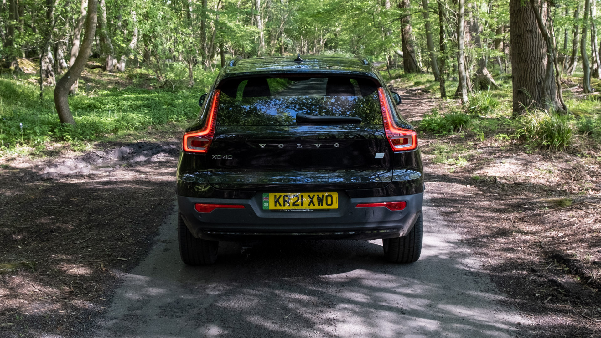 Volvo XC40 Recharge Twin rear performance