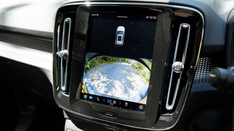 Volvo XC40 Recharge Twin rearview camera