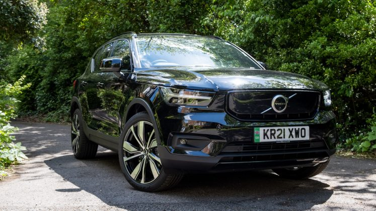 Volvo XC40 Recharge Twin side front