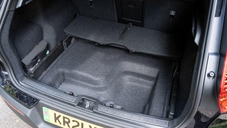 Volvo XC40 Recharge Twin underfloor