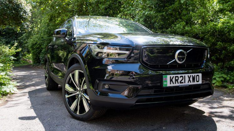 Volvo XC40 Recharge Twin wheels