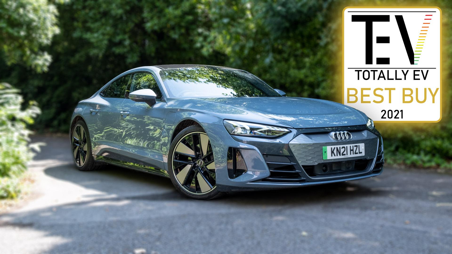 Audi e-tron GT TotallyEV award