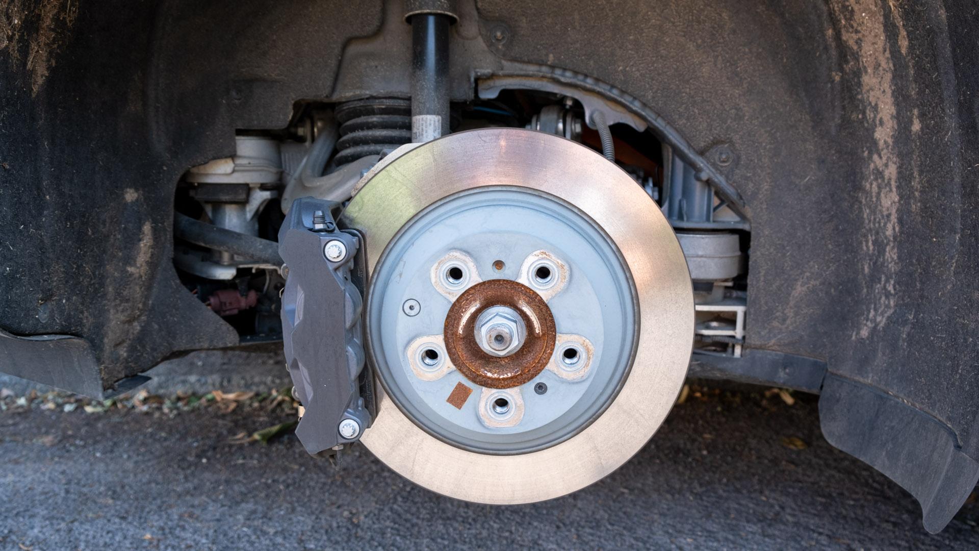 Audi e-tron GT brakes